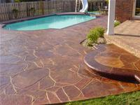 Concrete Pool Decks Solid Rock Concrete Services